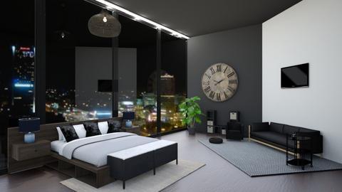 Warszawa is beautiful - Living room  - by CrezyCrasz