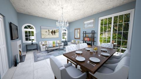 Greysons Manor - Living room - by JiaJayy