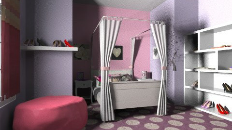 my dream bedroom - Glamour - Bedroom  - by hello kitty lover 23