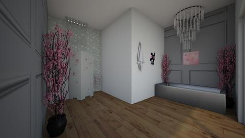 Cherry Blossom Bathroom - Bathroom  - by Addie8