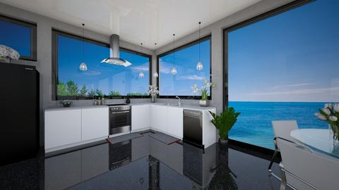 Kitchen OTW - Modern - Kitchen  - by Amyz625
