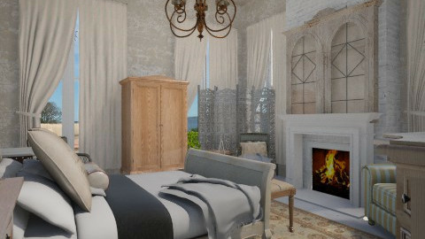 Guest House - Country - Bedroom  - by user_7618082