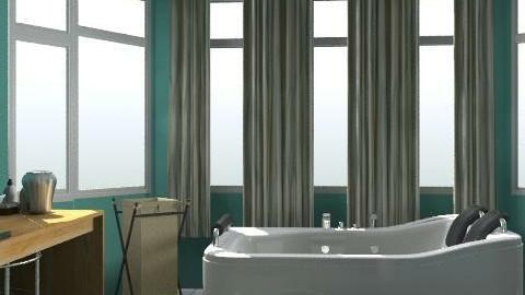 master bathroom - Glamour - Bathroom  - by fallangel95