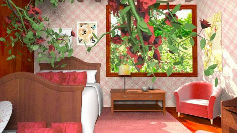 RedCherry - Classic - Bedroom  - by Luisy