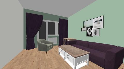 GarsonjeraV3 - Living room  - by LiverbirdJ