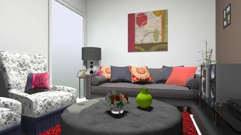 sala casa - Vintage - Living room  - by deleted_1620345943_kellassuncao