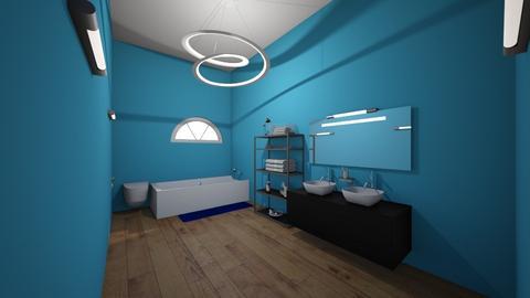 kids bathroom - Bathroom - by gbrown782