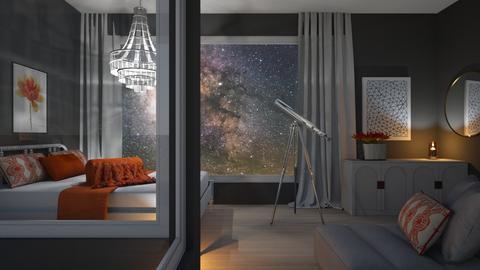 Night sky - by Designer1007
