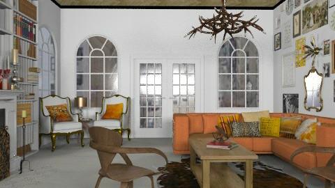 Eclectic livingroom - Eclectic - Living room  - by Rechoppy92