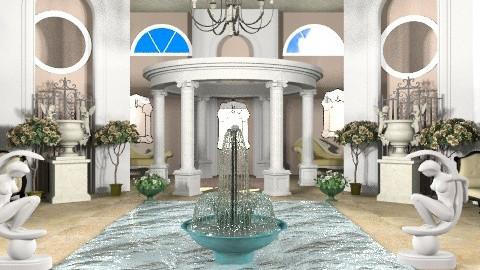 Roman Bath - Classic - by Marizzle77
