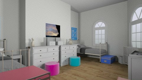 twinning - Modern - Kids room  - by kenzie_cloud