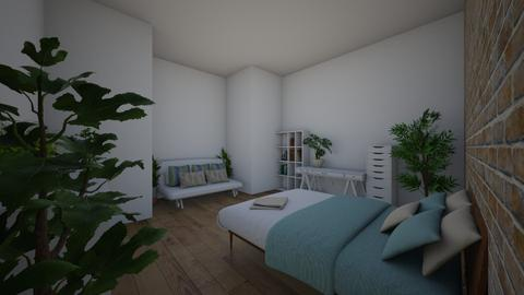 white plant room - by rose_hippy9508