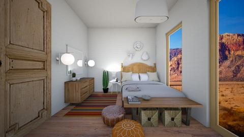 Desert Chic - Eclectic - Bedroom  - by alina65