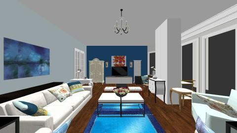 Living11a - Living room - by hala amroussy