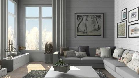 Large corner sofa - Modern - Living room  - by Thrud45