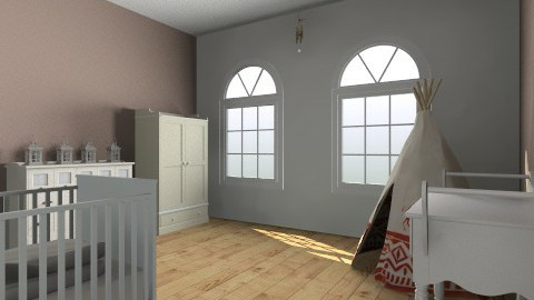 baby room 1 - Country - Bedroom  - by nico3