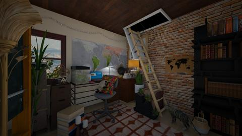 Eclectic Office - Eclectic - Office - by kristenaK