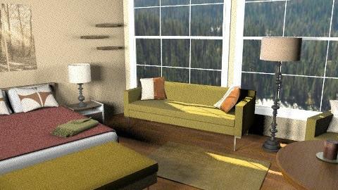 Rustic Suite - Rustic - Bedroom  - by Lenii