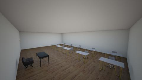 class room - by nguyen2009