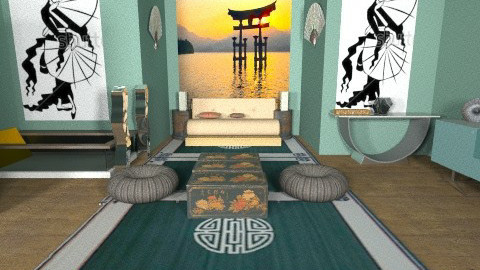 EASTERN PROMISE 1 - Eclectic - Bedroom - by FRANKHAM
