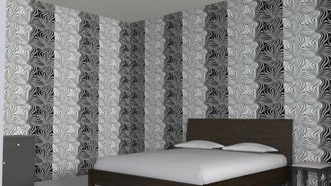 spalnaya - Glamour - Bedroom - by asylzhan