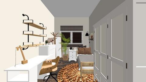 white - Bedroom  - by noradila
