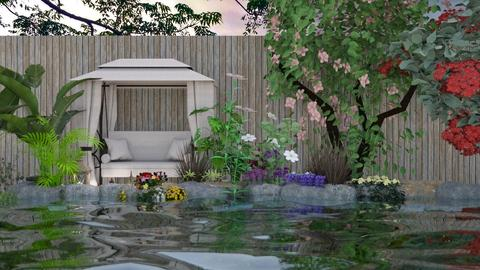 Little Pond - Garden  - by Feeny