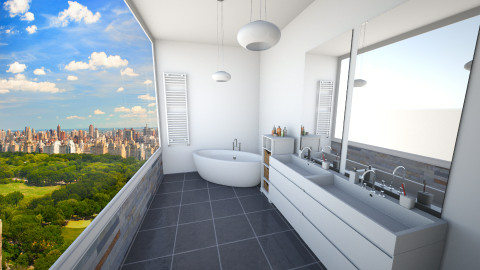 Overview - Bathroom  - by mycha