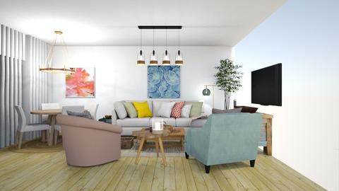 1234 - Living room  - by meital siman tov
