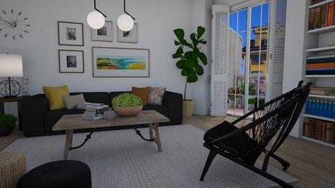 Town II - Living room  - by Tuija