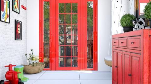 Hallway - by Carl Grimes