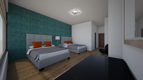 estructura hotelera - Modern - Bathroom - by juan luis cantorin quinteros