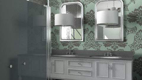 Mountainbrook Bathroom 2 - Eclectic - Bathroom  - by RachelWiles