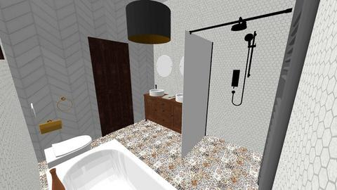 nasza lazienka - Eclectic - Bathroom  - by kenam