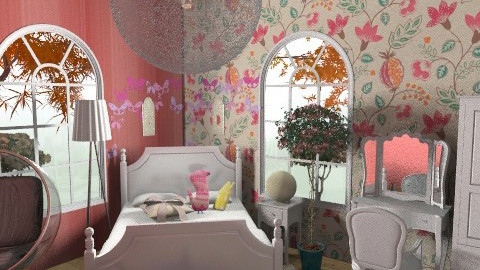 chic chick - Eclectic - Bedroom  - by dollymolly