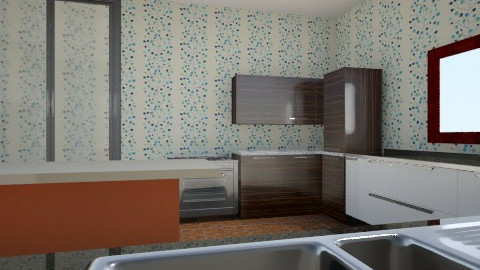 kitchen 1 - Country - Kitchen  - by Francesca Oberg