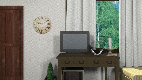 prueba 2 - Rustic - Bedroom  - by susanita