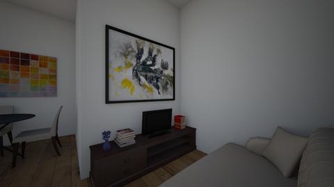 Bedroom 1 - Living room - by Amiya9780