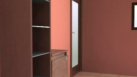 Brown Bathroom - Rustic - Bathroom  - by Nuttyniamh123