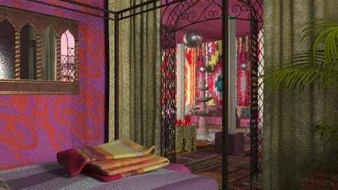 oriental tea - Eclectic - Living room  - by chania