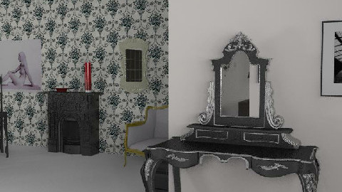 My Room of the hell 28 - Dining Room  - by Esnach