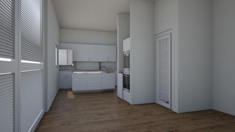 family room ext - Kitchen  - by oxlingham