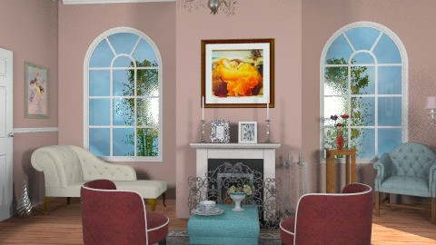 E.liv. - Eclectic - Living room  - by milyca8