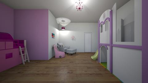 room 5 my little girl - Kids room  - by Schwaner