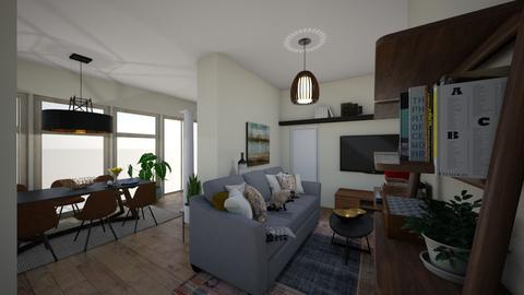 WZ Finaler Entwurf 4 - Living room  - by Pris_Frauenzimmer