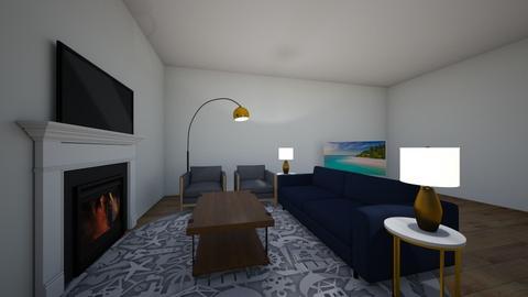 blu life - Modern - Living room  - by palesa_khibab