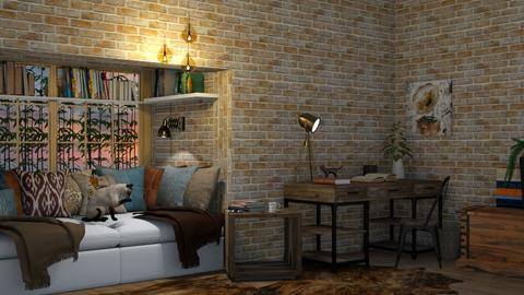 reading - Office  - by lpkinteriordesigns