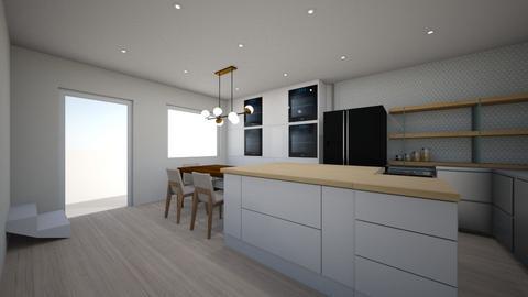 Open Kitchen 1 - Kitchen - by brennana9