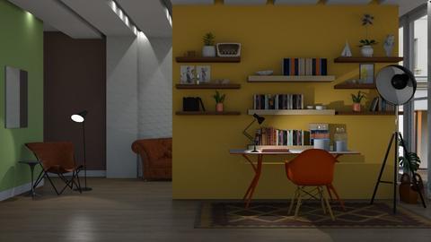 conrad 1950 - Living room  - by nat mi