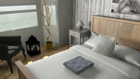 Realistic Bedroom size - Rustic - Bedroom  - by olpacino